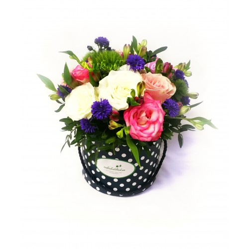 Box with flowers k12
