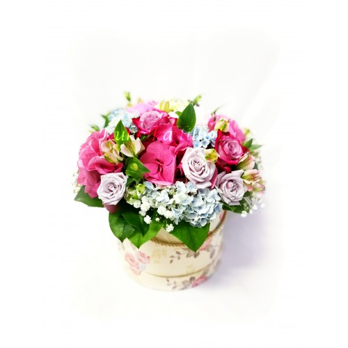 Box with flowers K11
